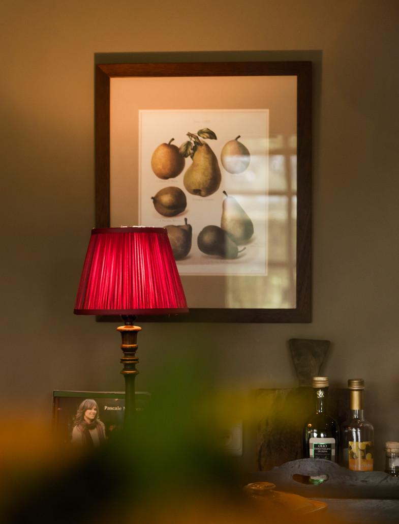 schilderij fruit lampje sfeer