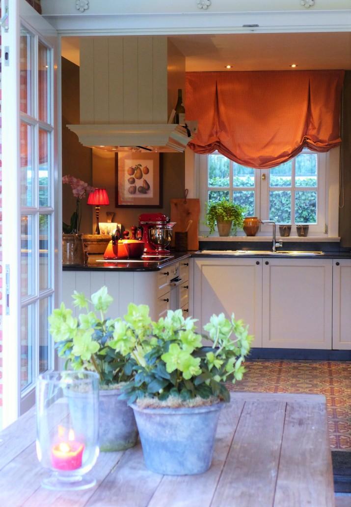 keuken rolgordijn landelijk