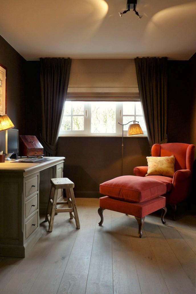 bureau fauteuil rood