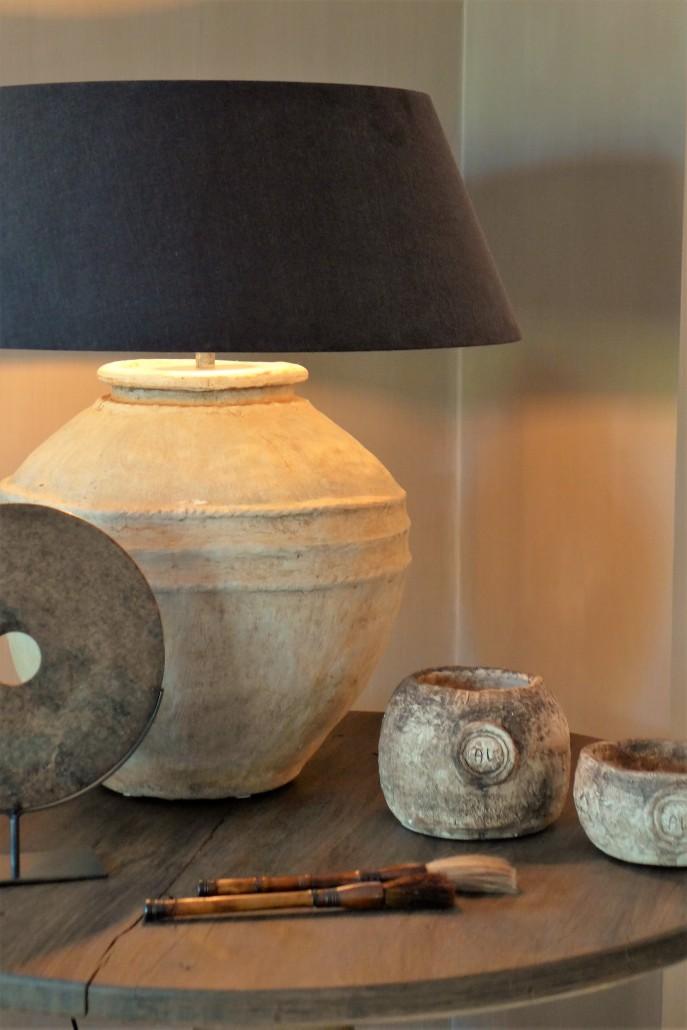 lamp op bijzettafel