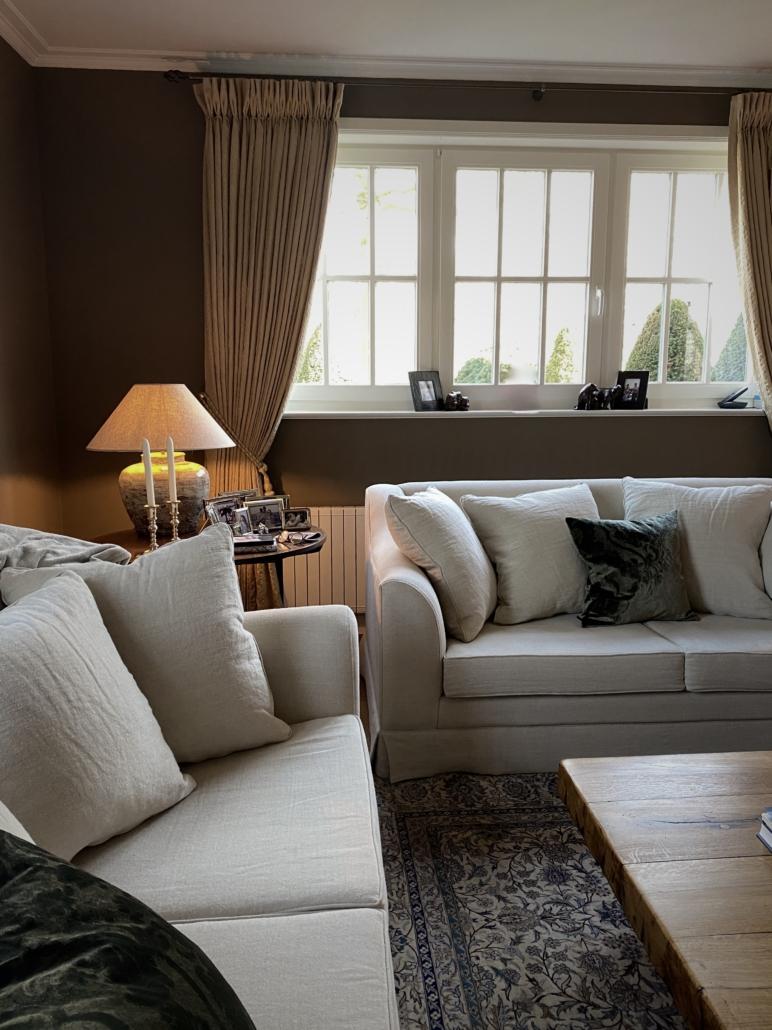 Living beige verf beige zetel